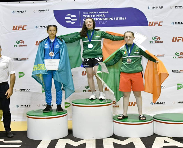 SBG Charlestown's Sarah Elliott-Sheridan talks on NearFM about her recent World Gold Medal in Rome
