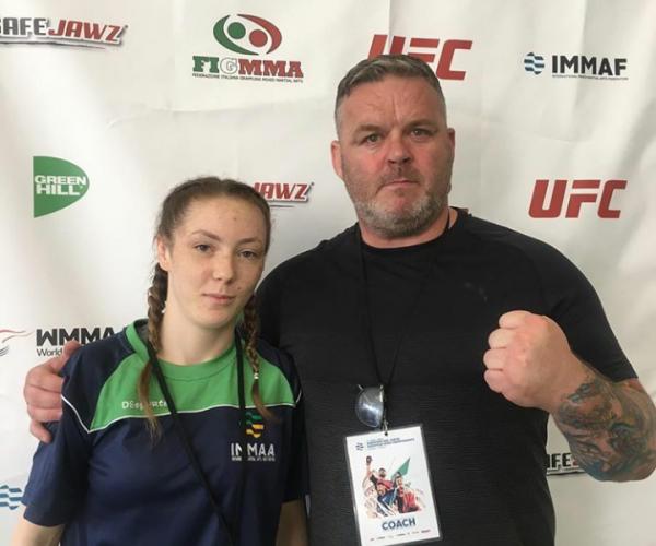 Featured Fighter: Nadine Abbott Bissett